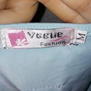 Vogue Fashion Tops - Razorback Embellished Tank Top